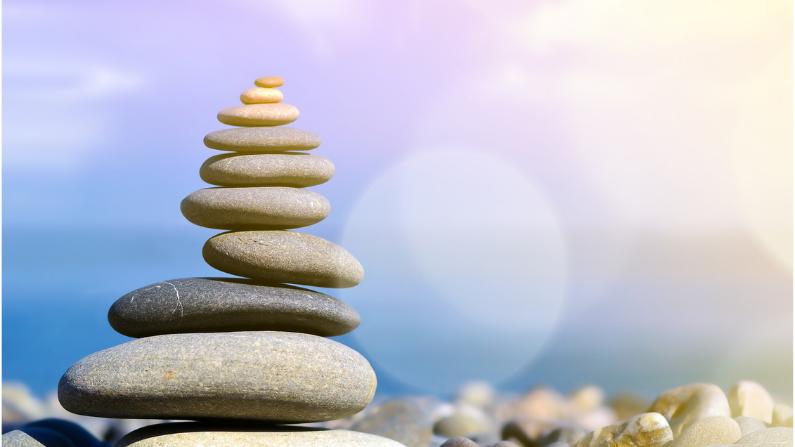 stones balancing - habit stacking