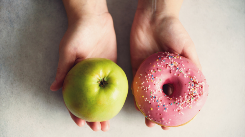 willpower and food choices
