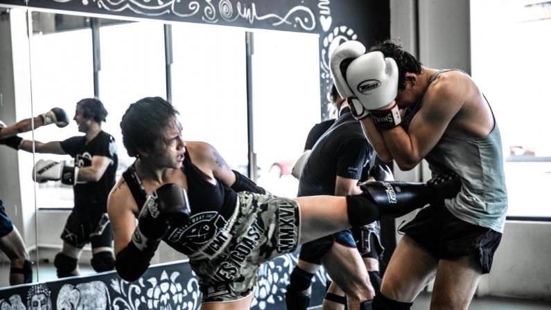 muay thai sparring teep - common foot injuries